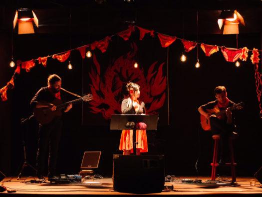 Roja y Negro, el nuevo proyecto de Ana Tijoux de gira
