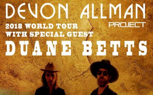 Conciertos de Devon Allman y Duane Betts en Madrid y Barcelona