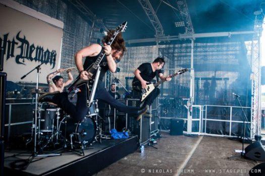 Próximos conciertos de Night Demon en España