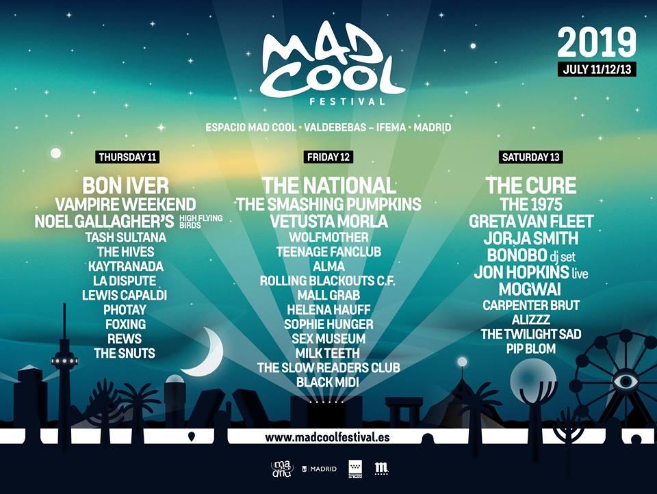 Mad Cool anuncia nuevas confirmaciones y muchas novedades