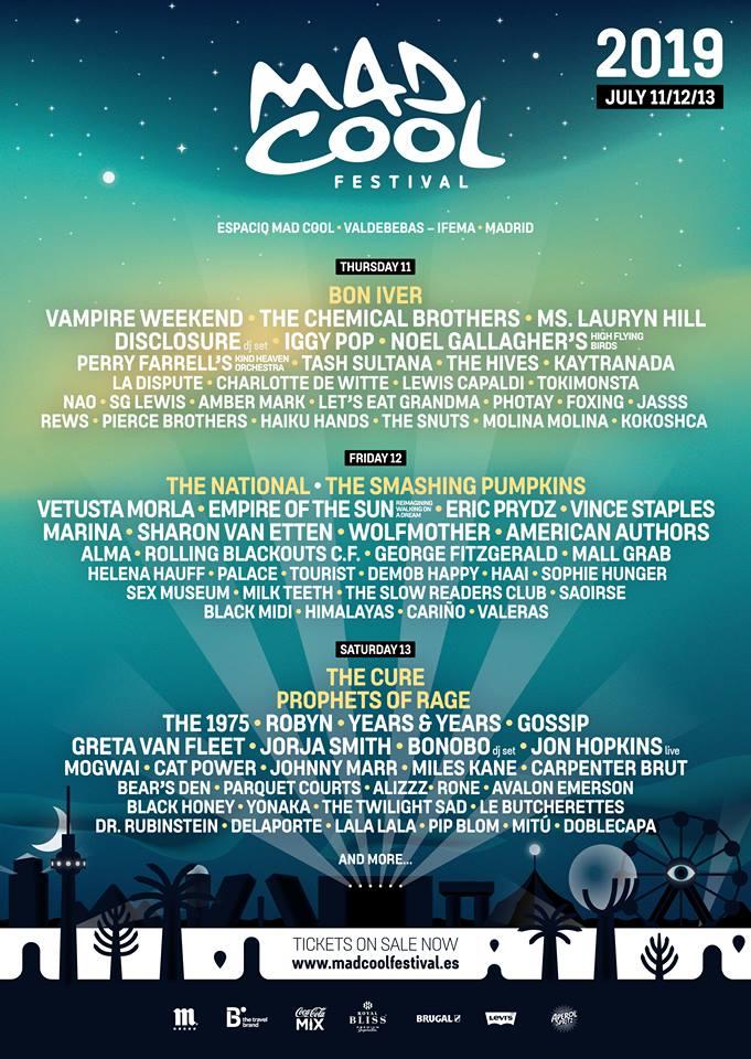 Mad Cool Festival anuncia la última gran tanda de confirmaciones