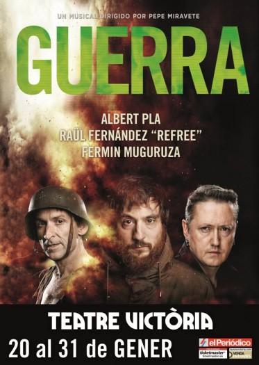 Guerra, Teatre Victòria