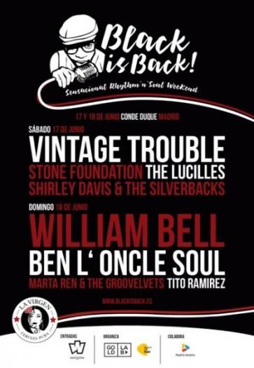 Vintage trouble Madrid Black is Back