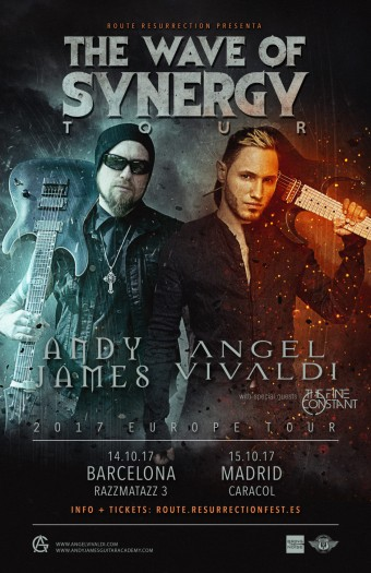 Andy James  Vivaldi cartel 2017
