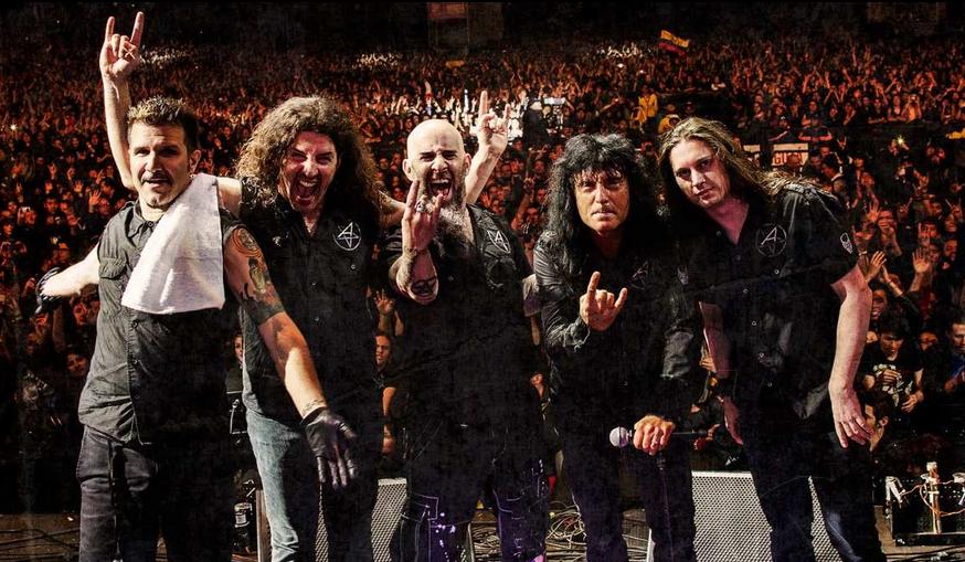Además de en el Resurrection Fest, Anthrax actuará en Pamplona y Corroios