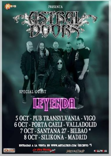 Astral Doors cartel 2017
