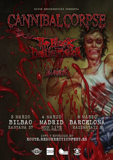 Cannibal Corpse cartel 2018