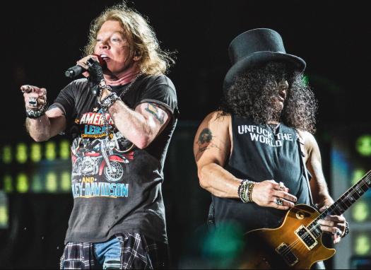 Guns N'Roses actuarán en el Download Festival Madrid 2018
