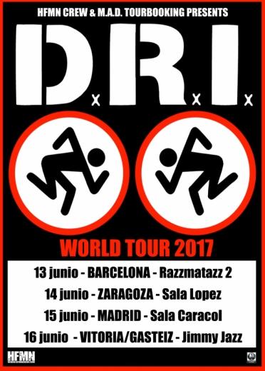 D.R.I. cartel 2017