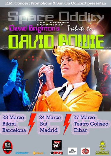 David Bowie experience cartel 2017