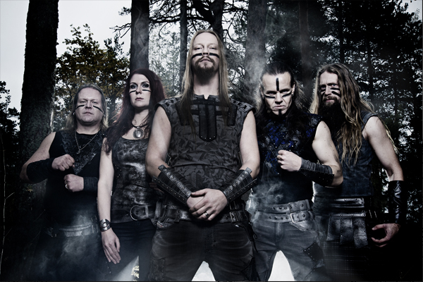Gira Española de la banda finlandesa de folk metal Ensiferum