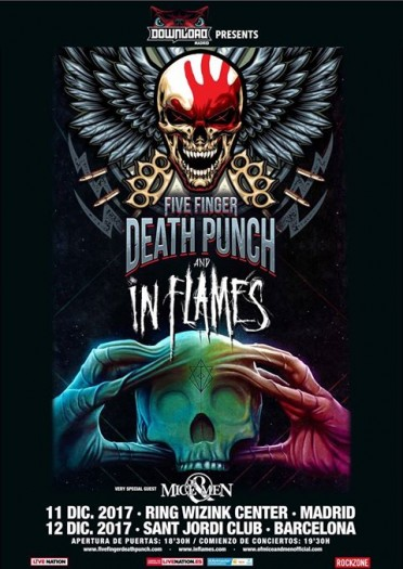 Five-Finger-Death-Punch-in-Flames-cartel 2017