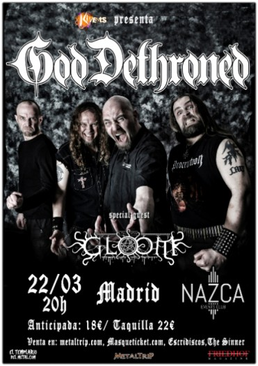 God Detrhroned cartel 2018
