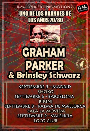 Graham Parker cartel 2014