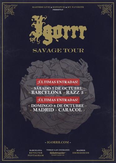 Igorrr cartel 2017