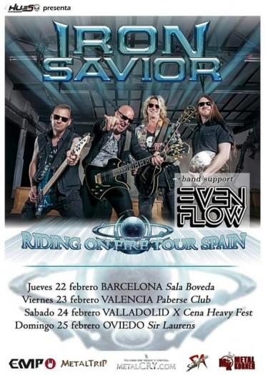 Iron Saviour cartel 2018