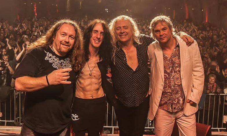 Nueva gira española de Letz Zep, banda tributo a Led Zeppelin