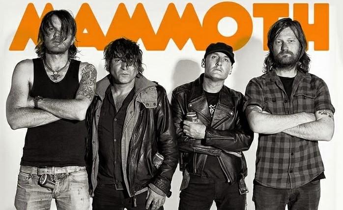 Próxima gira de la banda australiana Mammoth Mammoth