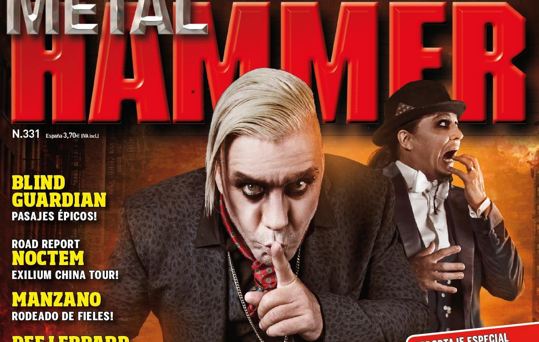 Resumen contenido revista Metal Hammer (Junio 2015)