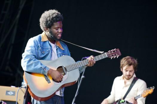 Michael Kiwanuka - Main Stage - Sunday   Photo by Gaëlle Beri