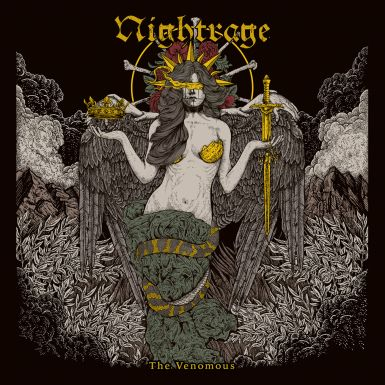 Nightrage.thevenomousalbumcover