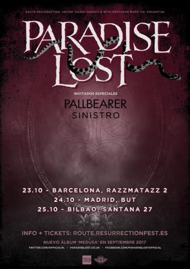 Paradise Lost cartel 2017