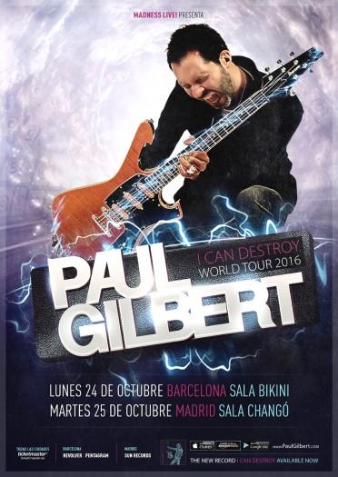 Paul Gilbert cartel 2016