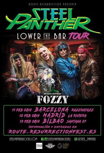 Steel Panther cartel 2018
