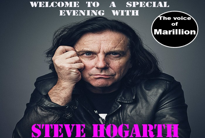 Conciertos especiales de Steve Hogarth (Marillion) en Madrid y Barcelona