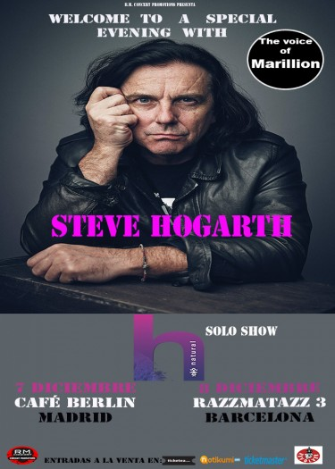 Steve Hogarth cartel 2017