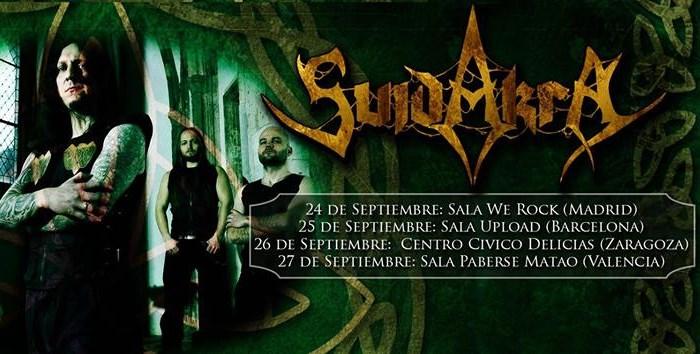 Noti-flash heavy (conciertos): Suidakra – Eldorado, King Of The North – Hangar Metal Fest…