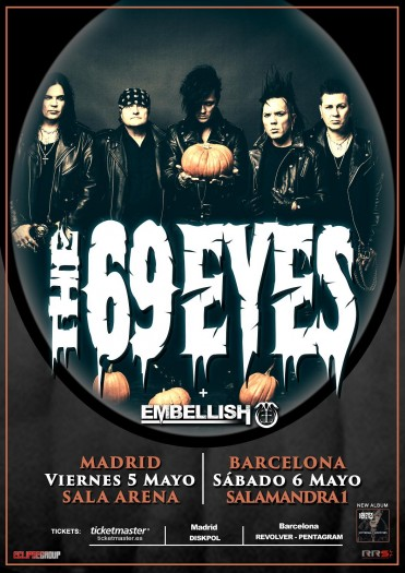 The 69 Eyes cartel 2017