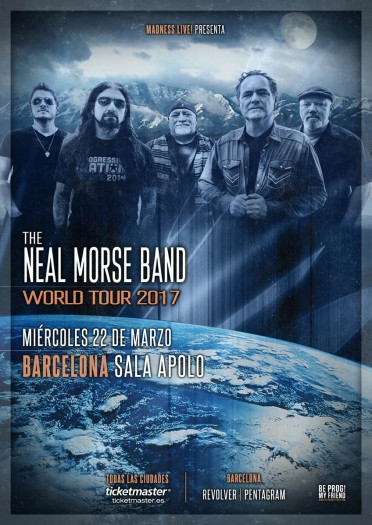 The Neal Morse Band cartel 2017