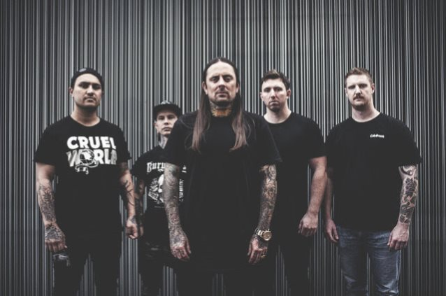 La banda australiana Thy Art Is Murder actuará en Madrid y Barcelona