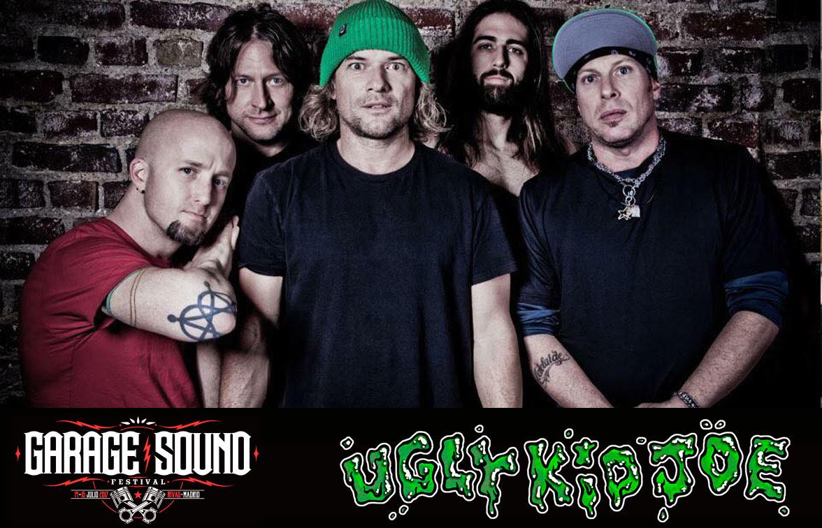 Próxima actuación de Ugly Kid Joe en Barcelona