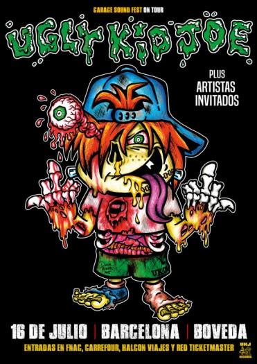 Ugly Kid Joe cartel 2017