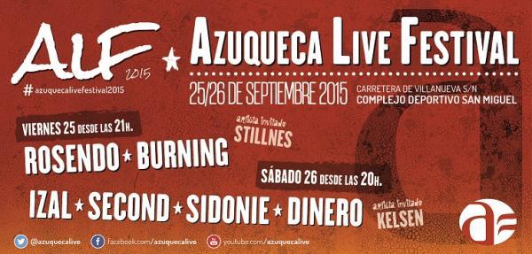 Rosendo, Izal, Second y muchos más en el Azuqueca Live Festival 2015