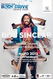 Body Drive Tour en Madrid el 11 de mayo de 2012