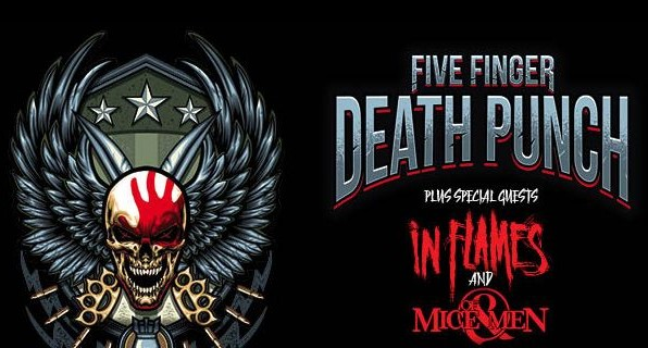 Conciertos de Five Finger Death Punch junto a In Flames en Madrid y Barcelona