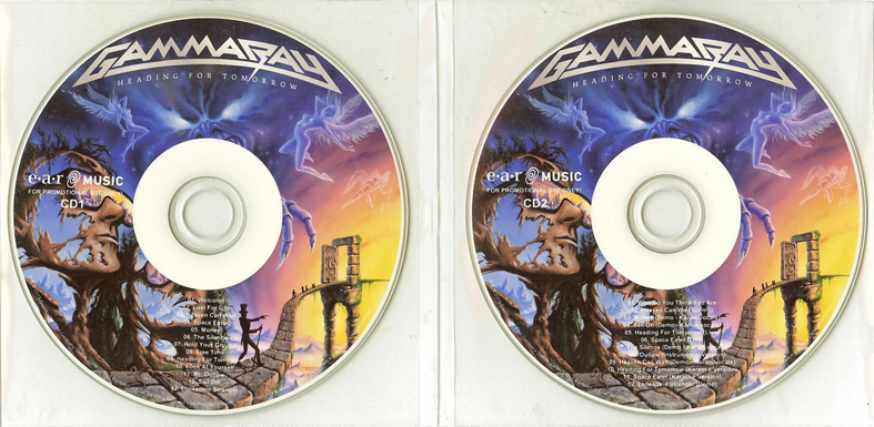 Gamma Ray: Heading For Tomorrow . Deluxe Edition (2015)
