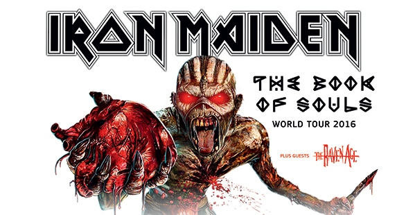 Iron Maiden actuará en Madrid, el Rock Fest de Barcelona y en el Resurrection Fest