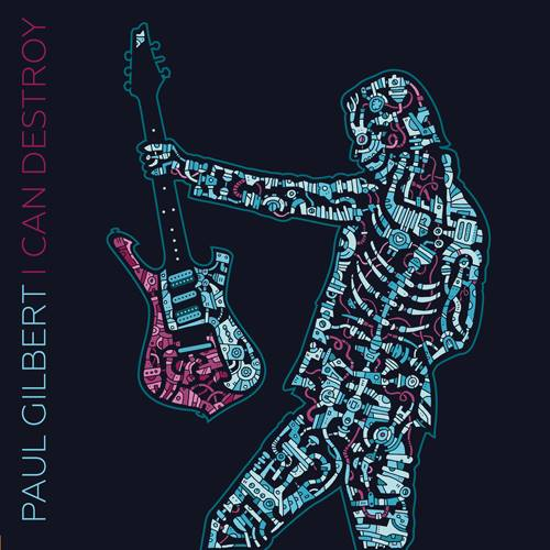 paul gilbert portada i can destroy
