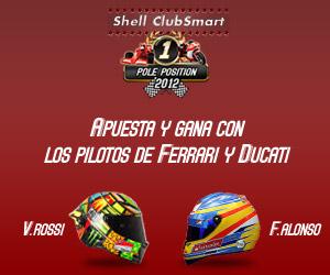 Shell te invita a las carreras de Moto GP y Fórmula-1