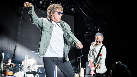 The Who Performs At Palais Omnisport De Bercy