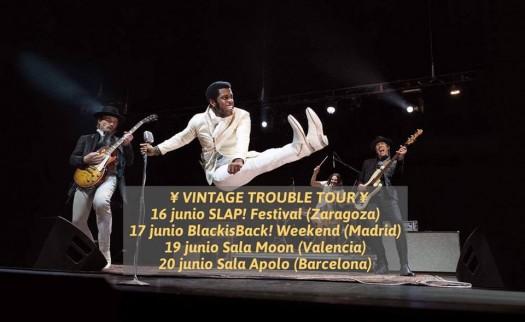 Vintage Trouble Spain Tour